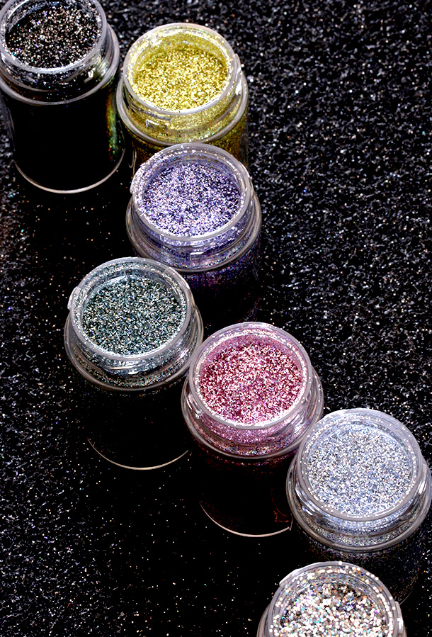 The new MAC 3D Glitters