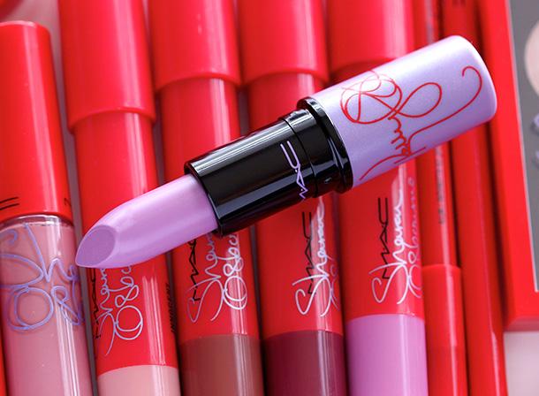 MAC Kelly Osbourne Matte Lipstick in Dodgy Girl