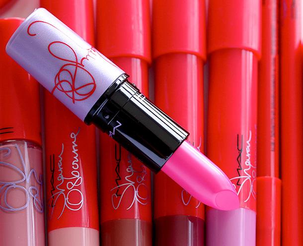 MAC Kelly Osbourne Satin Lipstick in Kelly Yum Yum
