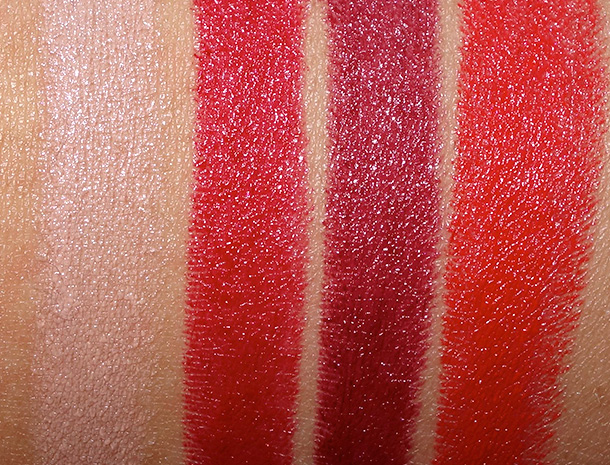 MAC Pedro Lourenco Lipstick Swatches