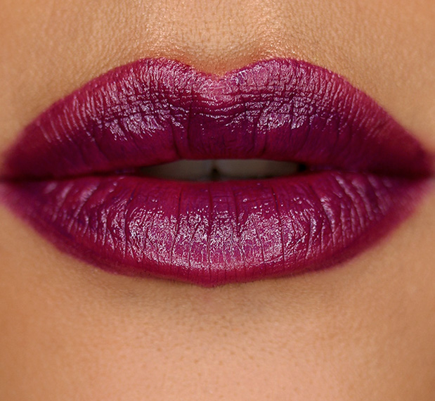 MAC Pure Heroine Lipstick Lip Swatch