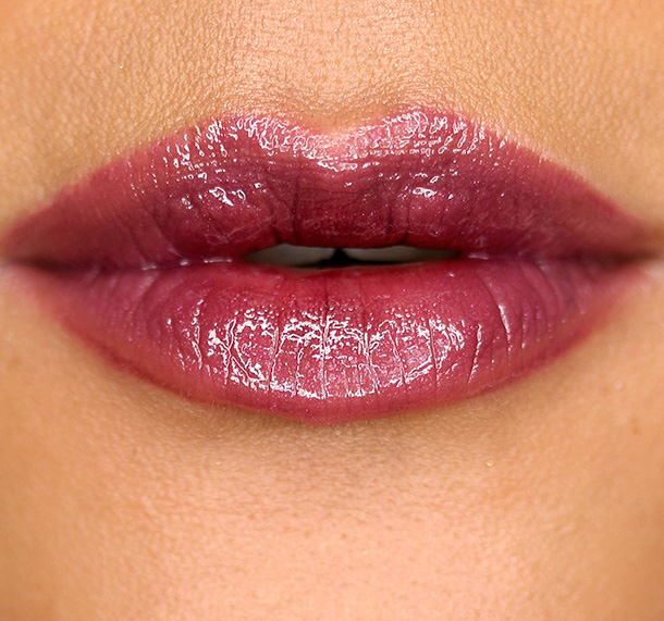 MAC What Comes Naturally Lip Pencil, Half Red Lip Pencil, Siren Song Lipstick and Modern Lure Lipglass