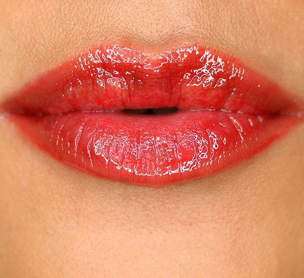 NARS Eternal Red Lip Gloss Swatch