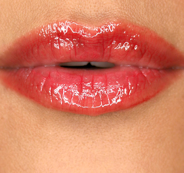 NARS Scandal Lip Gloss lip swatch