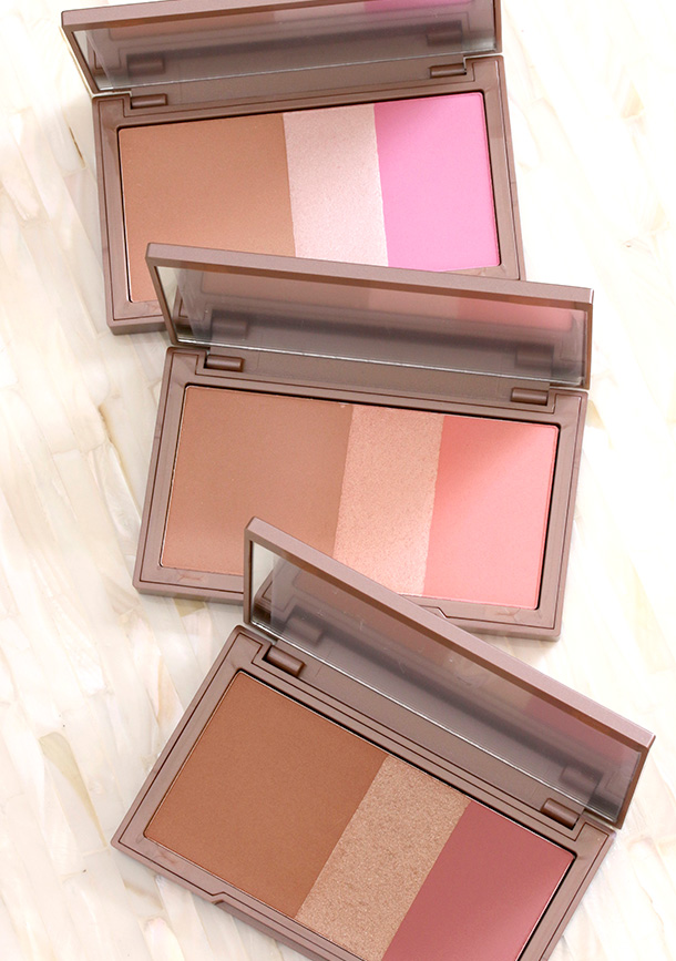 The new Urban Decay Naked Flushed Bronzer/Highlighter/Blush Palettes