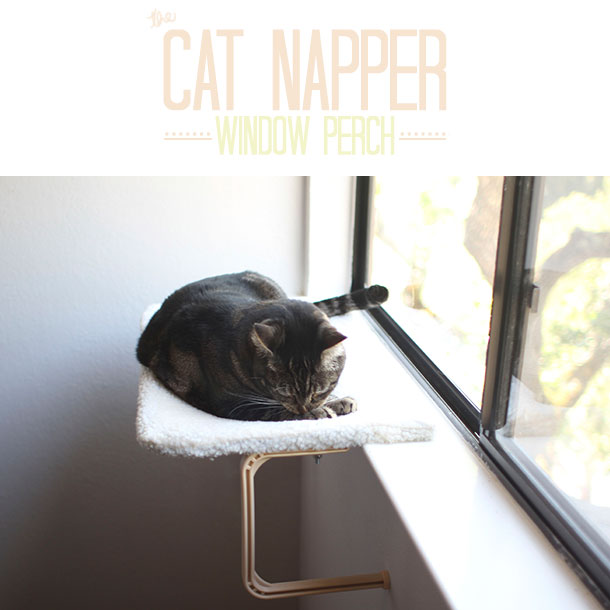 The Cat Napper Window Perch