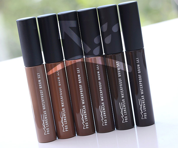 MAC Waterproof Brow collection