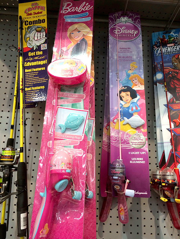 Pink stuff in the fishing department makeup and beauty blog for Barbie fishing pole