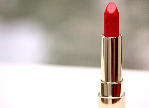 Dolce & Gabbana Classic Cream Lipstick in Fire