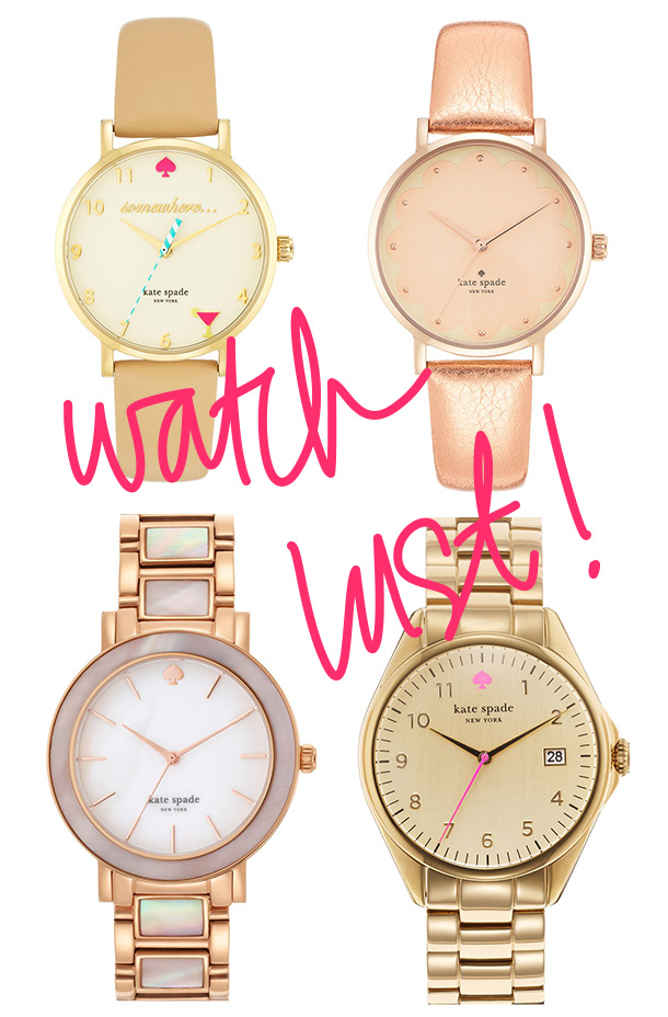 Kate Spade Watch Lust