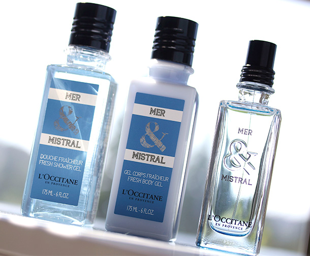 The newest scent from L'Occitane, Mer & Mistral