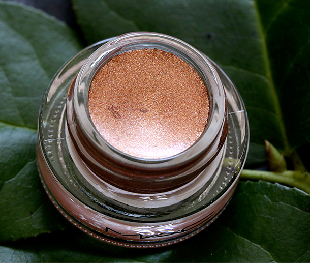 MAC Fluidline in Copperthorn, a glittery bronze