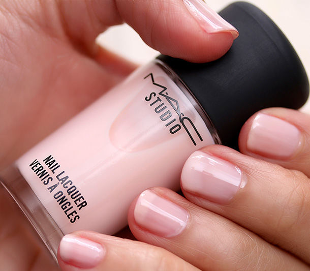 Delicate S And Saint Germain Mac Studio Nail Lacquer In