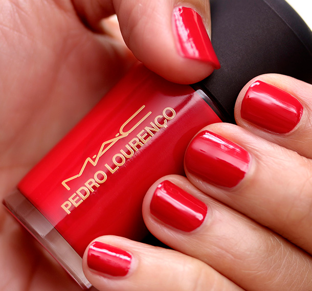 MAC Studio Nail Lacquer in Flaming Rose