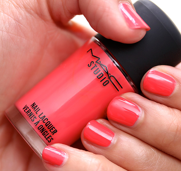 MAC Nail Lacquer in Impassioned Swatch