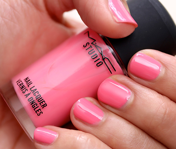 MAC Studio Nail Lacquer in Instant Crush Swatch