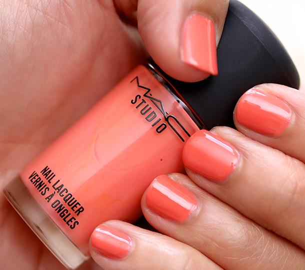 MAC Studio Nail Lacquer in Only in Florida Swatch