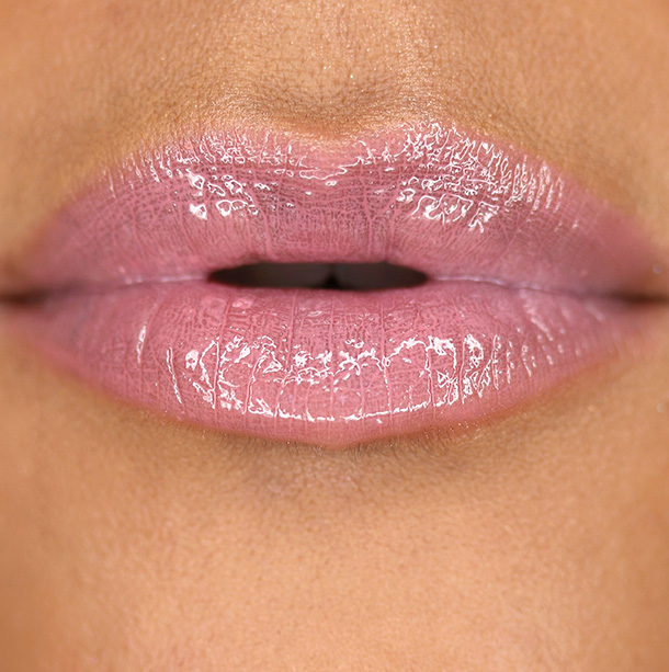 MAC Patentpolish Lip Pencil in Patentpink + Lipglass in Bijou