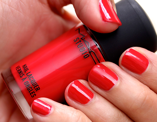 Mac Studio Nail Lacquer In Shirelle Swatch