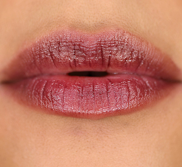 MAC Sheen Supreme Lipstick in Venomous Violet Swatch