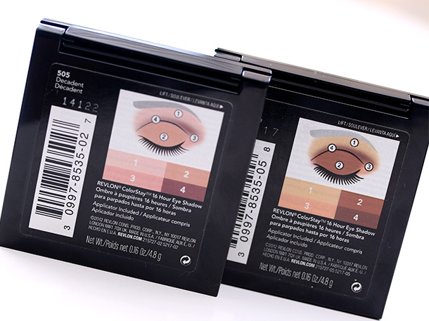 Pack less and do more with a multitasking neutral eyeshadow quad revlon colorstay eyeshadow quads in 505 decadent left and 520 brazen right 597 each at walmart ccuart Images
