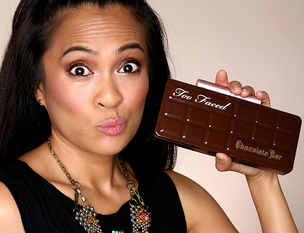 Win the Too Faced Chocolate Bar Palette and a Tube of Better Than Sex Mascara
