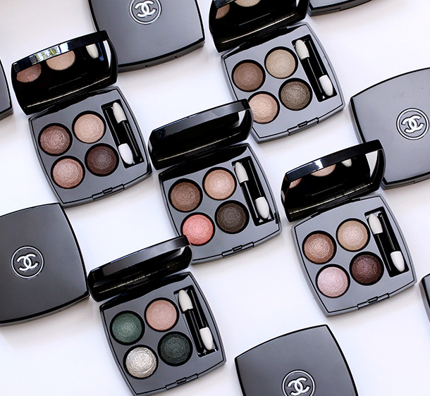 New Baked Goods From Chanel: The New Baked Formula Chanel Les 4 Ombres Quadra Eyeshadows for ...