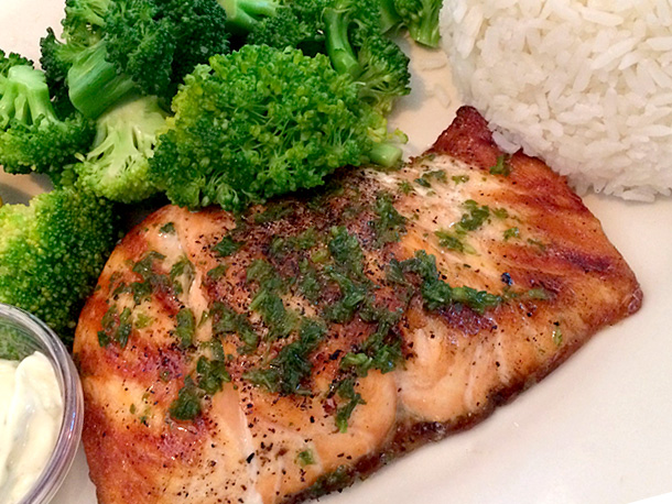 Cheesecake Factory Grilled Salmon (3)