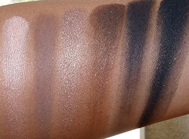 NARS And God Created the Woman Swatches