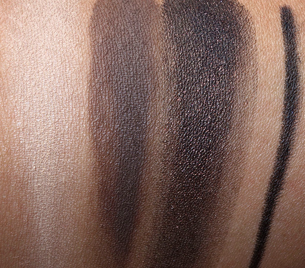NARSissist Smokey Eye Kit Swatches