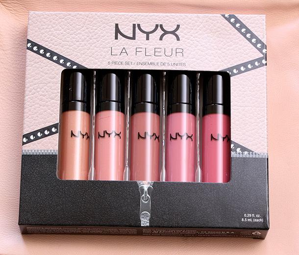 NYX La Fleur Lip Gloss Set (4)