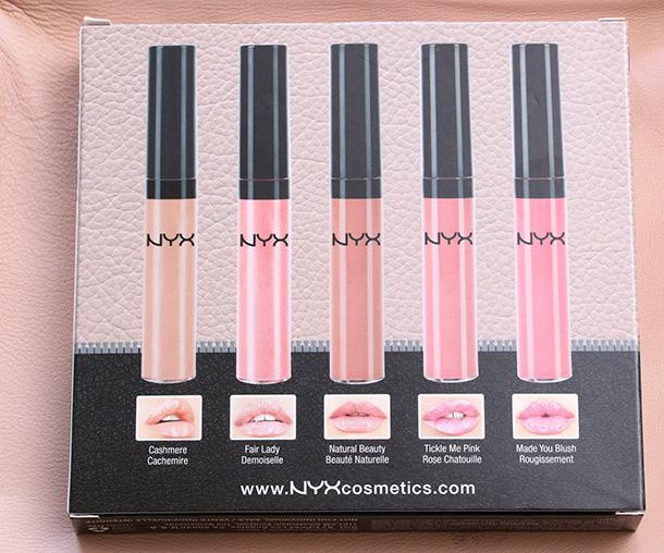 NYX La Fleur Lip Gloss Set (5)