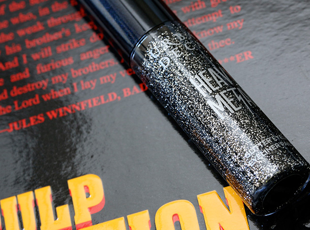 Urban Decay Pulp Fiction Collection Heavy Metal Glitter Eyeliner in Gunmetal