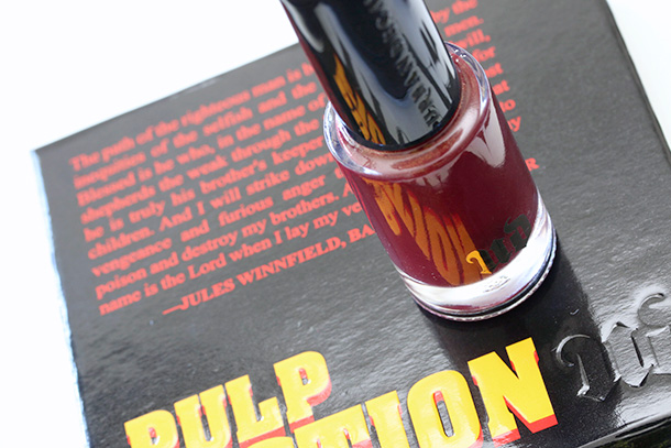 Urban Decay Pulp Fiction Collection Nail Polish in Mrs. Mia Wallace