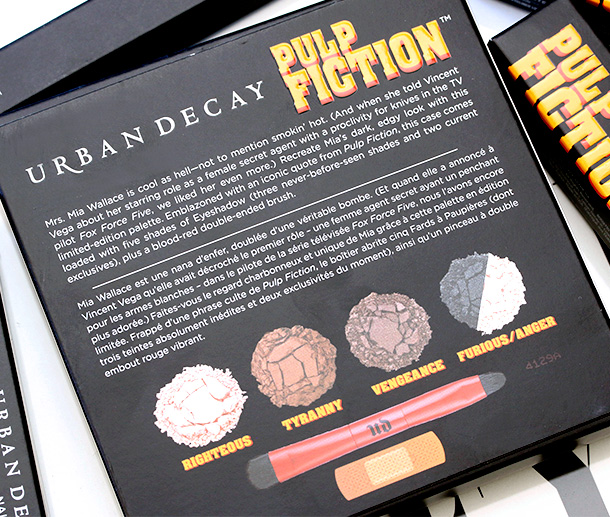 Urban Decay Pulp Fiction Collection Palette Box