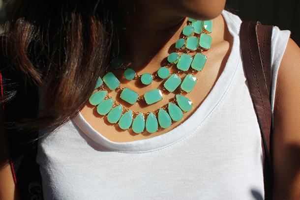 Kate Spade Riviera Garden Triple Strand Necklace