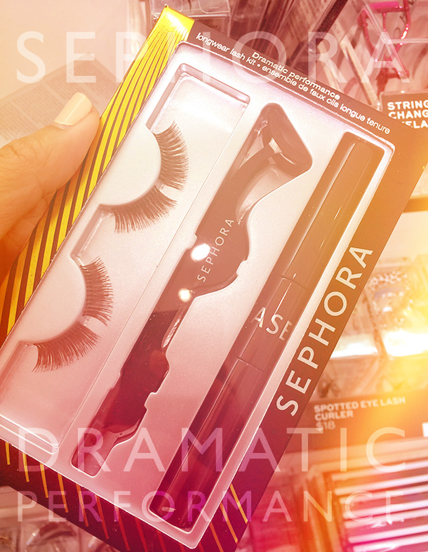 Sephora Dramatic Performance Longwear Lash Kit