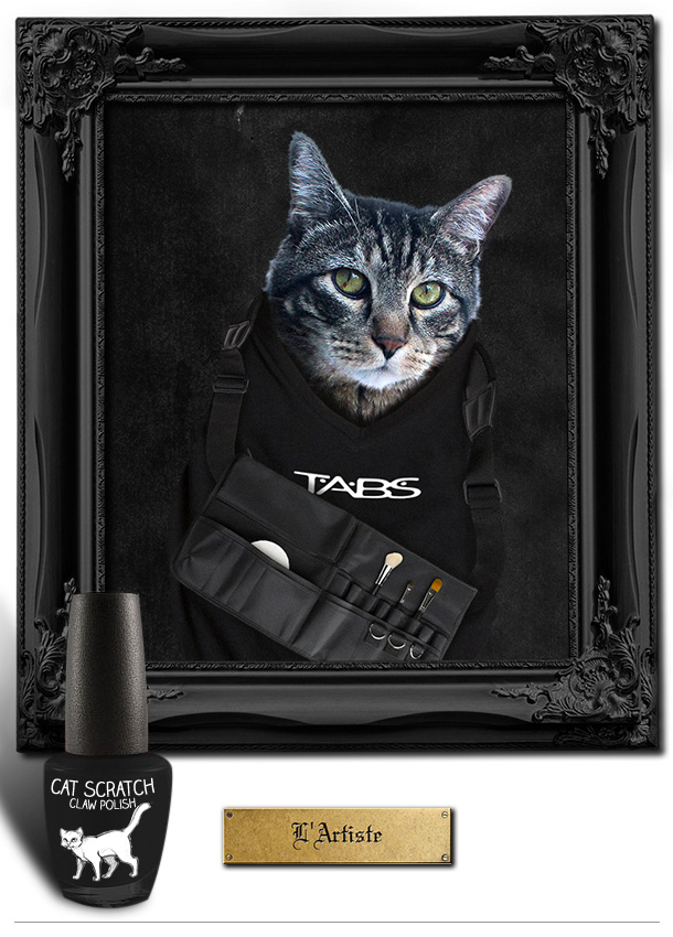 Tabs the Cat for L'Artiste Claw Polish
