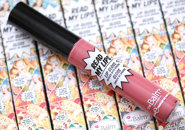 theBalm Read My Lips Lip Gloss in Bam