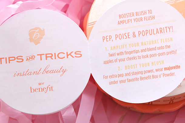 Benefit Majorette Booster Blush
