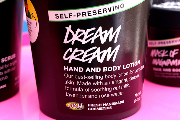 Lush Self-Preserving Dream Cream