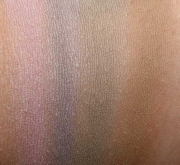 MAC Eye Shadows in Artificial Earth, Stony, Marsh and Natural Wilderness