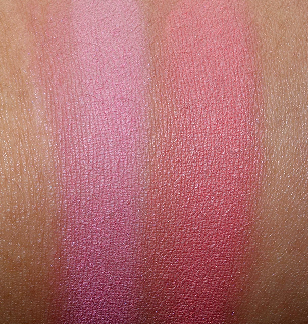 MAC Powder Blush in Pink Sprinkles (left) and Sideshow You (right)