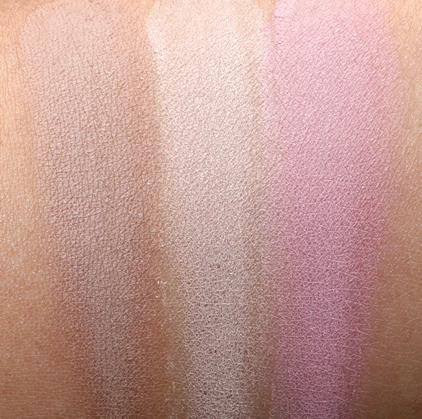 MAC Powder Blushes in Taupe, Next to Skin and Pink Cult