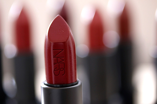 NARS Audacious Lipstick in Charlotte