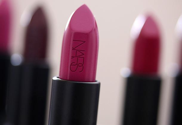 NARS Audacious Lipstick in Silvia