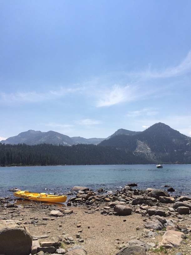 Lake Tahoe Kayaking on Emerald Bay