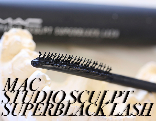 MAC Studio Sculpt Mascara in Superblack Lash