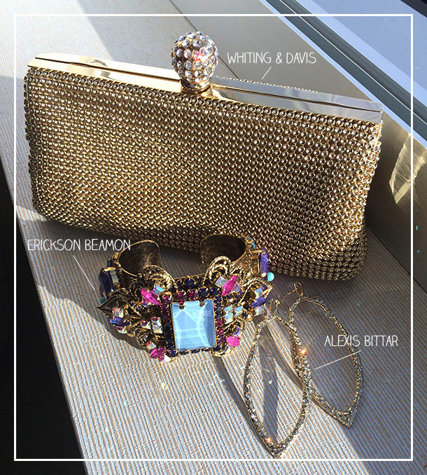 Whiting & Davis Gold Mesh Clutch