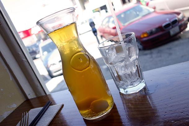 Lychee Iced Tea at B Star